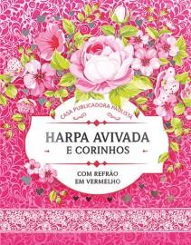 Harpa Avivada e Corinhos pequena Brochura M.02 Floral Pink