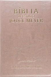 Biblia De Estudo Joyce Meyer Media Rosa Luxo
