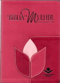 Biblia Da Mulher Grande Nova Flor Rc