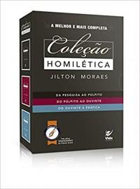 Colecao Homiletica 3 Vol  Jilton Moraes