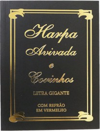Hinário Brochura Letra Gigante TRADICIONAL