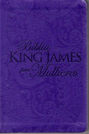 Bíblia King James Para Mulheres Roxa BKJ 1611