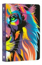 Biblia Nvt  Lion color letra grande