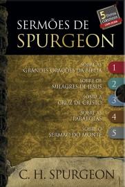 Box Sermões de Spurgeon – 5 Livros Capa Dura