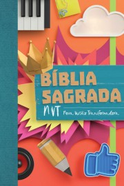 Biblia Nvt  media Colagem Brochura