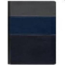 Bíblia Thompson capa  luxo média  Azul e cinza