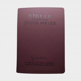 Biblia De Estudo Joyce Meyer Bordo