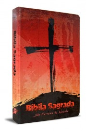Bíblia Sagrada Rc Grande Semi Luxo Cruz