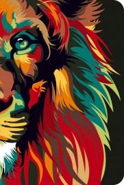 Bíblia Nvt Lion Color Nature Capa Dura