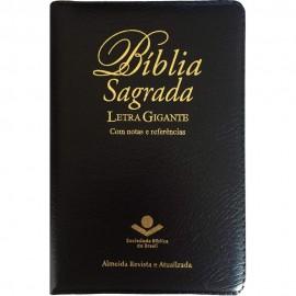 Biblia Letra Gigante (Ra) Ziper Preta Sbb