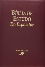 Biblia De Estudo  Expositor Vinho Luxo