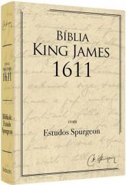 Bíblia De Estudo Spurgeon BKJ 1611 L. Grande Creme