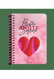 Bíblia Anote NVI espiral - Especial Outubro Rosa