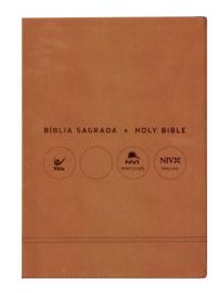 Biblia  Bilingue Grande  Port Ing Marrom