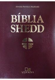 BÍBLIA SHEDD LUXO MARROM