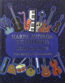 Hinário Brochura Letra Gigante NOTAS MUSICAIS