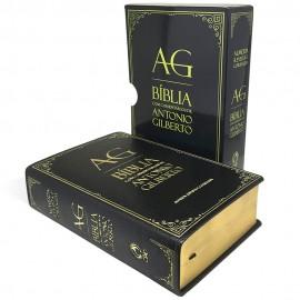 Bíblia com Comentários de Antonio Gilberto Preta
