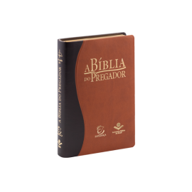 A Bíblia do Pregador RC - Capa Marrom Claro/Escuro