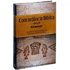 CONCORDANCIA BIBLICA CRESCER CAPA DURA