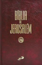 Biblia De Jerusalem Media  Capa Dura