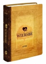 Biblia de estudo wiersbe luxo neutra
