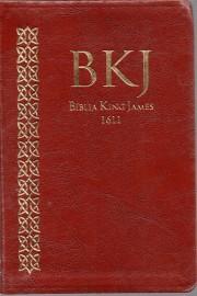 Biblia King James Ultra Fina Marrom 1611 Bkj