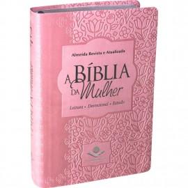 Biblia Da Mulher Media Rosa Claro Ra