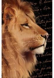 Bíblia Arc Leão Letra Gigante c. Harpa Avivada