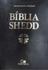 Bíblia Shedd Luxo Preta