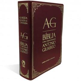 Bíblia com Comentários de Antonio Gilberto Vinho