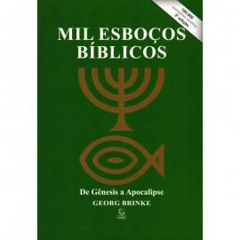 Mil Esbocos Biblicos  De Genesis A Apocalipse