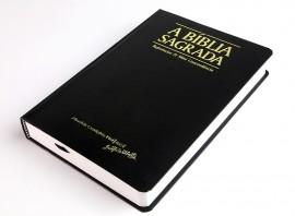 Bíblia acf R. e Mini Concordância - Semi Luxo Preta