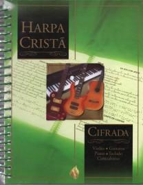Harpa Crista Cifrada Verde Grande Capa Dura