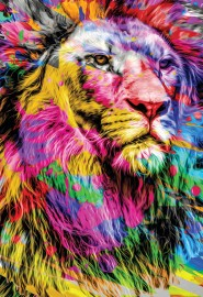Bíblia Ntlh Youversion The Lion Colorida Letra Normal