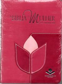 Biblia Da Mulher Media Flor Rc