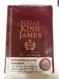 King James Estudo Atualizada Ra Vinho