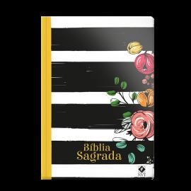 Bíblia NVT semi-luxo Listrada