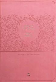 Bíblia Bilingue Rosa Holy Bible