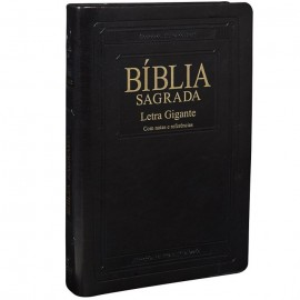 Bíblia Sagrada Letra Gigante luxo preto