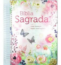 Biblia Nvi Anote Espiral Classica Virtuosa