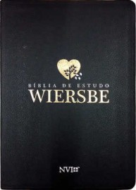 Biblia De Estudo Wiersbe Luxo Preta