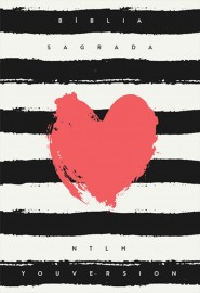 Bíblia Ntlh Youversion Coração Listrado - Letra Normal