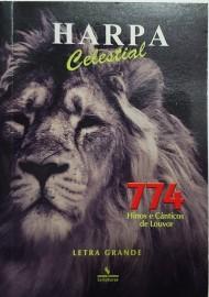 Harpa PQ. Brochura com 774 hino letra grande leão