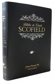 Biblia Scofield preta LUXO
