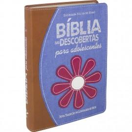 Biblia Das Descobertas Adolescentes Flor Ntlh