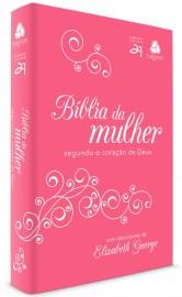BIBLIA DA MULHER SEGUNDO CORAÇAO DE DEUS PINK