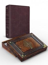 Bíblia Thompson do colecionador marrom luxo