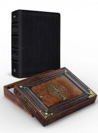 Bíblia Thompson do colecionador preta luxo