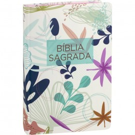 Bíblia Sagrada - Flores I capa dura