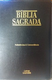 BIBLIA COM CONCORDANCIA E REFERENCIA LUXO RECOURO SBTB